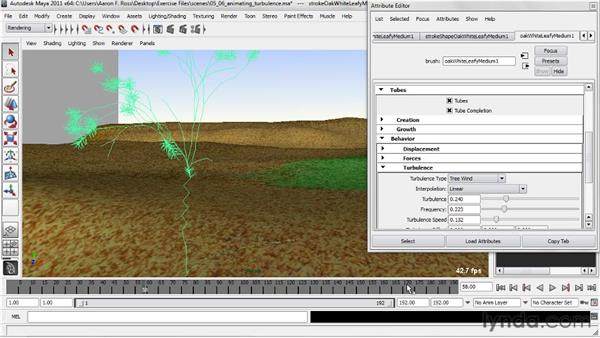Animating turbulence: Creating Natural Environments in Maya