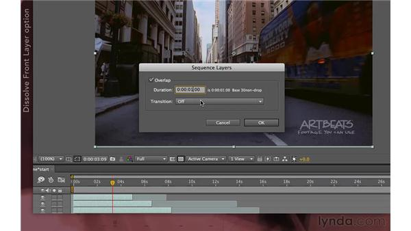 : After Effects Apprentice 04: Layer Control