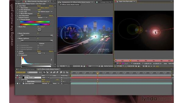 Working with effect point paths: After Effects Apprentice 04: Layer Control
