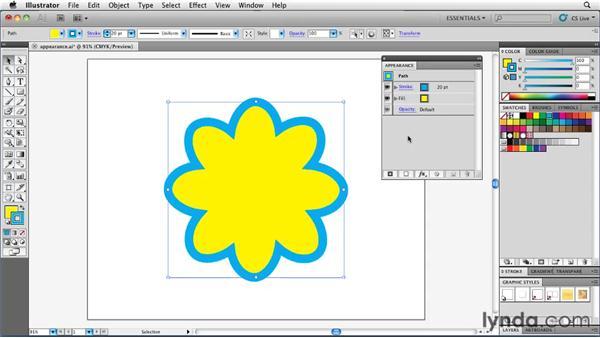 Understanding attribute stacking order: Illustrator Insider Training: Rethinking the Essentials