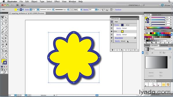 Modifying appearances with Live Effects: Illustrator Insider Training: Rethinking the Essentials