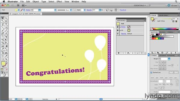 Using multiple fills to create textures: Illustrator Insider Training: Rethinking the Essentials