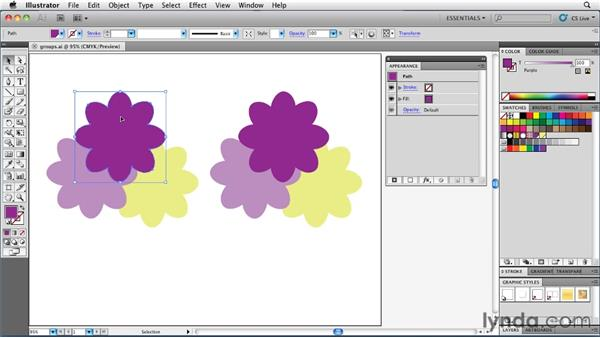 Understanding the difference between targeting and selecting: Illustrator Insider Training: Rethinking the Essentials