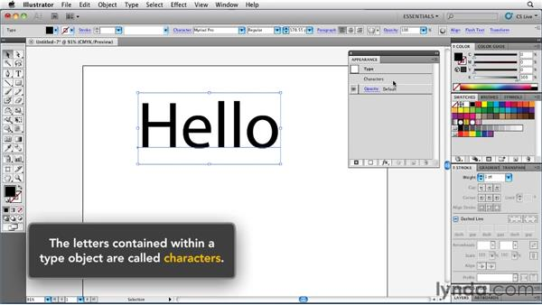 Extending the concept of groups to type objects: Illustrator Insider Training: Rethinking the Essentials