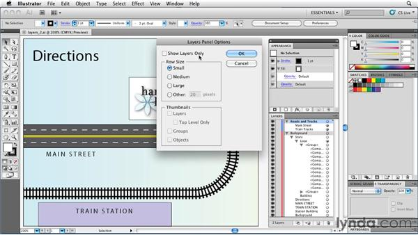 Getting the most out of the Layers panel: Illustrator Insider Training: Rethinking the Essentials