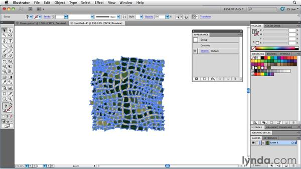 Generating custom textures with Texturizer: Illustrator Insider Training: Rethinking the Essentials