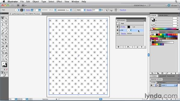 Enhancing performance with Rasterize: Illustrator Insider Training: Rethinking the Essentials