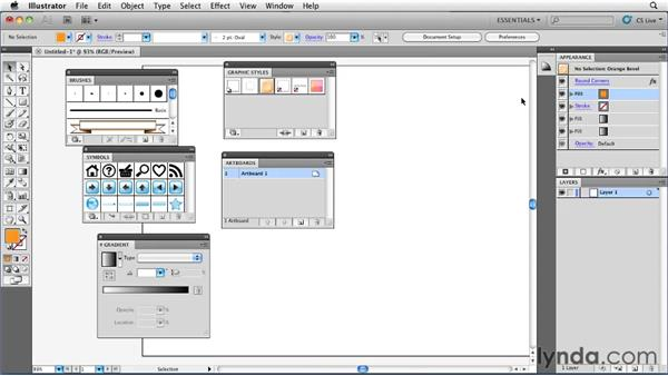 Setting up a workspace that makes sense: Illustrator Insider Training: Rethinking the Essentials