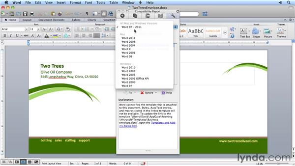 Understanding the reasons to switch: Migrating from Word 2008 for Mac to Word 2011