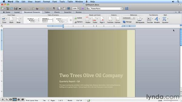 Exploring the new Ribbon interface: Migrating from Word 2008 for Mac to Word 2011