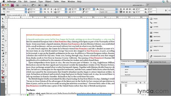 Modifying nested, GREP, and line styles: InDesign CS4 to EPUB, Kindle, and iPad