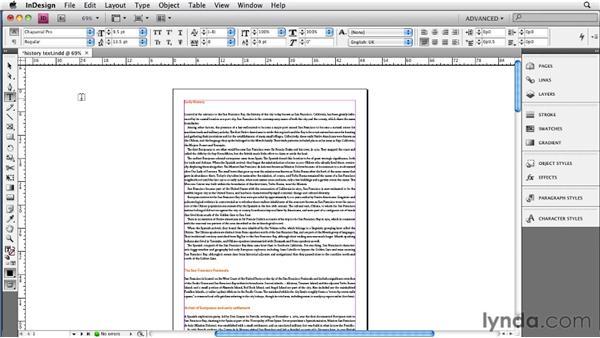 Adding metadata to the InDesign file or book: InDesign CS4 to EPUB, Kindle, and iPad