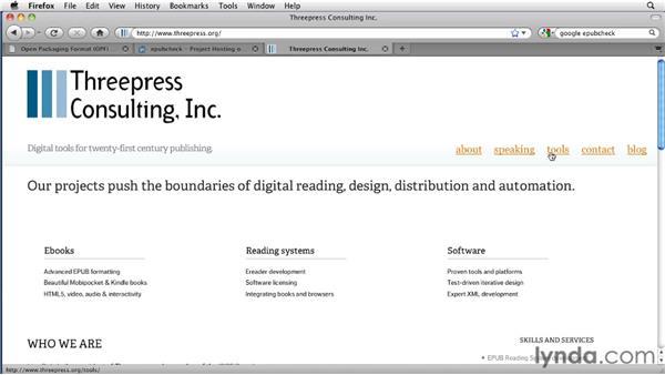 Validating EPUB files: InDesign CS4 to EPUB, Kindle, and iPad