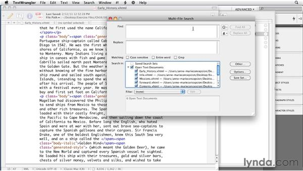 Cleaning up the XHTML files: InDesign CS4 to EPUB, Kindle, and iPad