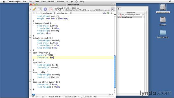 Creating drop caps: InDesign CS4 to EPUB, Kindle, and iPad