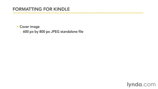 Preparing your ePub for Kindle conversion: InDesign CS4 to EPUB, Kindle, and iPad