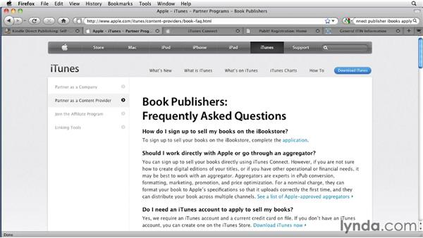 Getting your ebook into the Kindle Store, iBookstore, or NOOKbook Store: InDesign CS4 to EPUB, Kindle, and iPad