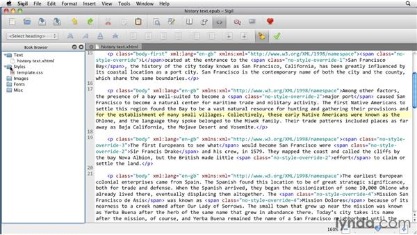 Applying paragraph and character styles: InDesign CS5 to EPUB, Kindle, and iPad