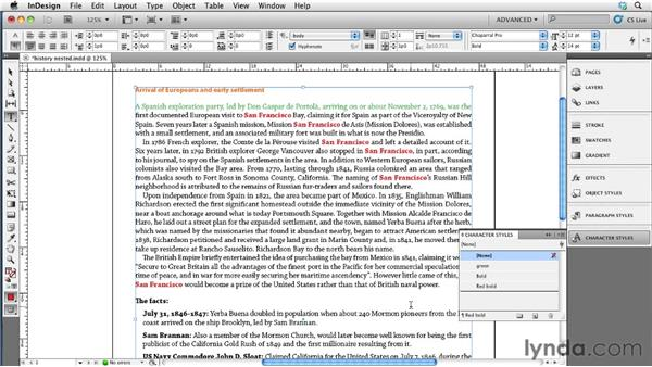 Modifying nested, GREP, and line styles: InDesign CS5 to EPUB, Kindle, and iPad