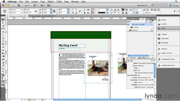 Converting InDesign graphics: InDesign CS5 to EPUB, Kindle, and iPad