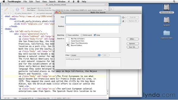 Cleaning up the XHTML files: InDesign CS5 to EPUB, Kindle, and iPad