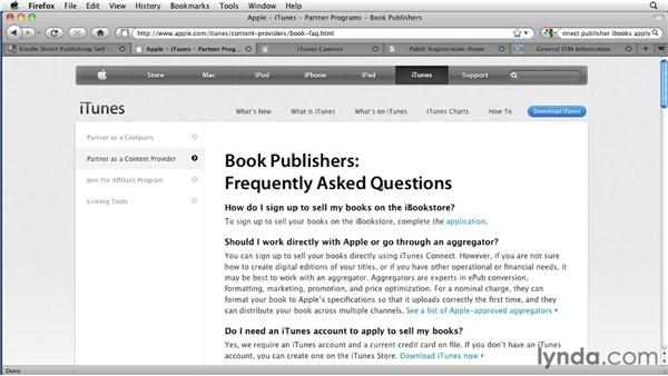 Getting your ebook into the Kindle Store, iBookstore, or NOOKbook Store: InDesign CS5 to EPUB, Kindle, and iPad
