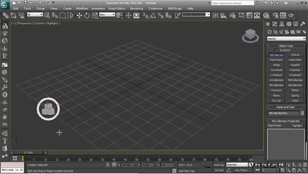 Working with Reactor's collection types: Getting Started with Reactor in 3ds Max