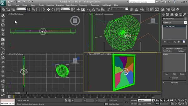 Creating the Rigid Body Collection: Getting Started with Reactor in 3ds Max