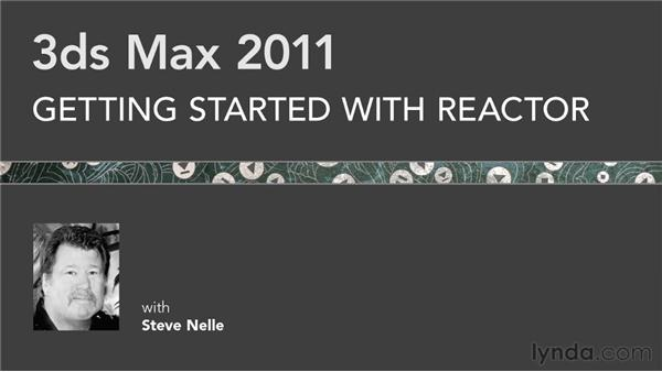 Goodbye: Getting Started with Reactor in 3ds Max