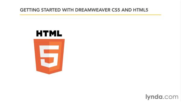 Who can benefit from this course?: Dreamweaver CS5: Getting Started with HTML5