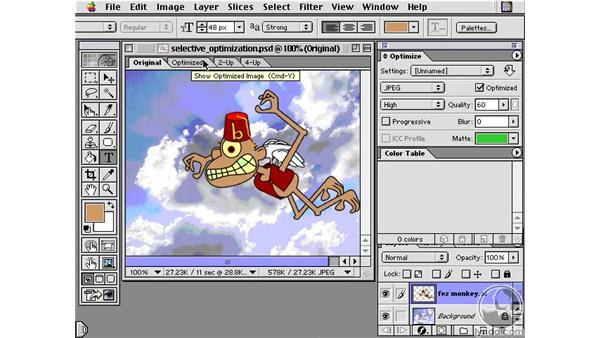 Optimization Image Ready: Learning Photoshop 6 and ImageReady 3 for the Web