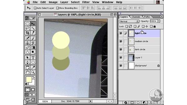 Re-arranging Layers: Learning Photoshop 6 and ImageReady 3 for the Web