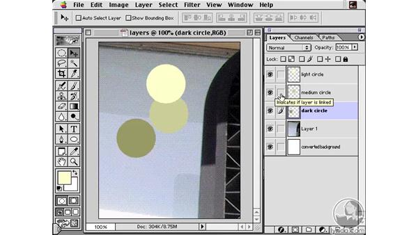 Linking Layer Movement: Learning Photoshop 6 and ImageReady 3 for the Web