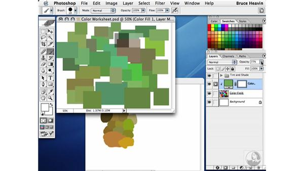 shifting color: Working with Color
