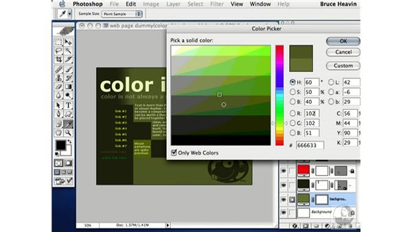 web color: Working with Color