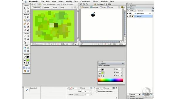mixing palette: Working with Color