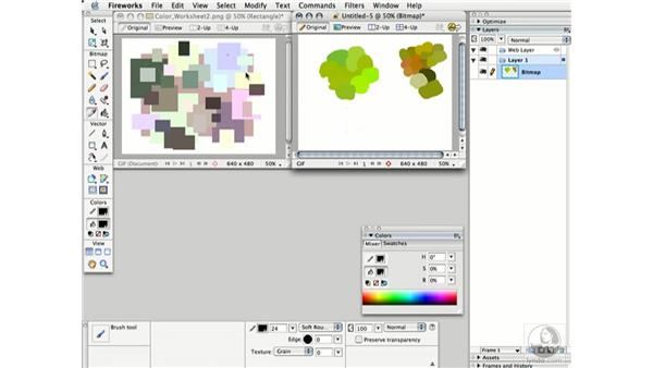 shifting saturation: Working with Color