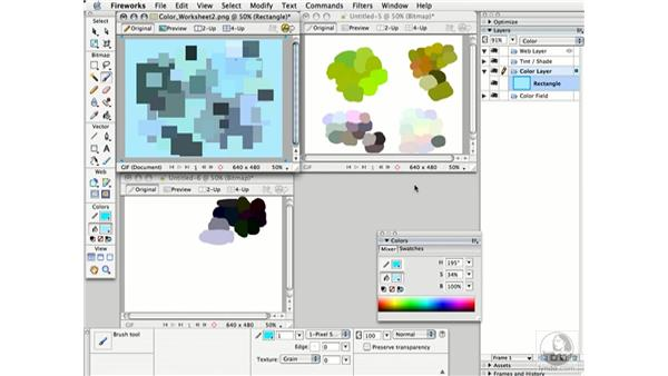 shifting hue and saturation: Working with Color