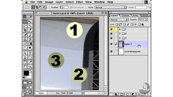 Labeling Layers: Learning Photoshop 6 and ImageReady 3 for the Web