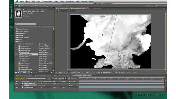 Animating mattes: After Effects Apprentice 05: Creating Transparency
