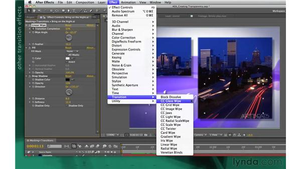 : After Effects Apprentice 05: Creating Transparency