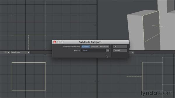 Editing polygons: LightWave 10 Essential Training