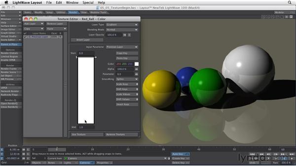 Understanding the Texture Editor: LightWave 10 Essential Training