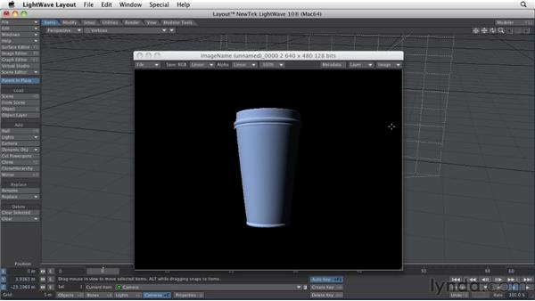 Building 3D scenes: LightWave 10 Essential Training