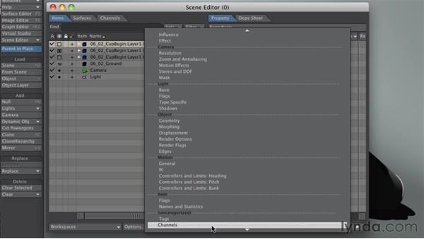 Organizing a 3D scene: LightWave 10 Essential Training
