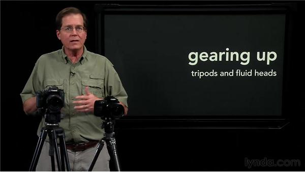 Understanding video tripods: Video for Photographers: Shooting with a DSLR