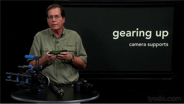 Working with other camera supports: Video for Photographers: Shooting with a DSLR