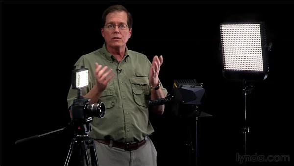 Choosing lighting gear: Video for Photographers: Shooting with a DSLR