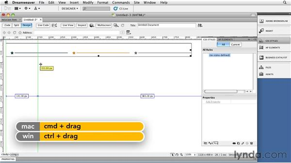 Implementing sprites: Site Navigation with CSS in Dreamweaver