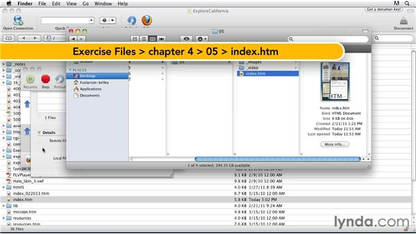 Publishing files on a web server: Publishing Video with the Flash Platform